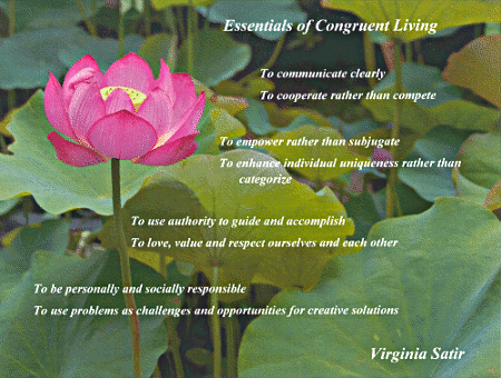 Essentials of congruent living