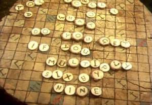 Scrabble 6 by 9